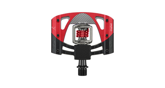 Crankbrothers Mallet 3 Pedal schwarz/rot